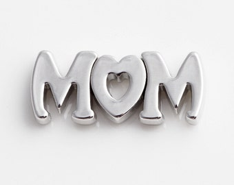MOM Floating Charms for Living Lockets, Glass Memory Lockets