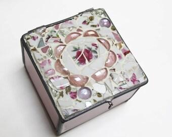 Mosaic jewelry box Etsy