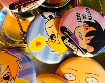 One Punch Man Pins