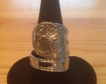 Spoon Ring Silver 1862