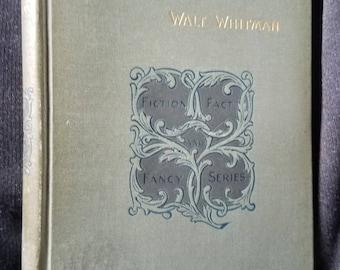 Autobiographia (1892) by Walt Whitman