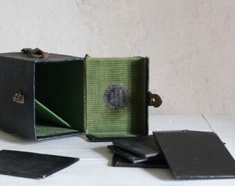 Antique Cut Film Holders // Vintage French Photo Developing