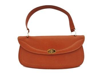 1950's Tan Verona Leather Handbag