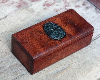 Stylish box, wooden box, chinese dragon, custom box, keepsake box, casket, chest, dragon, carved stone, feng shui, chinese ornament