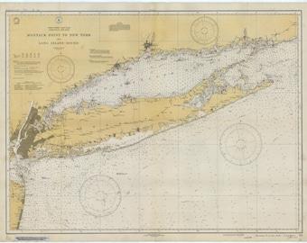 Long Island Map 1934
