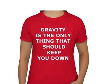 T SHIRT Gravity