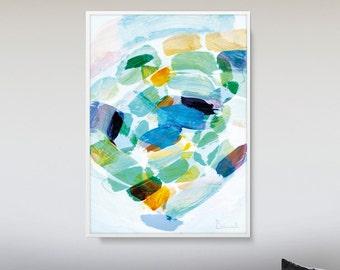 Printable art Modern Minimal art Pastel Colors Modern Art Minimalist Art Modern Home Art A2 size Downloadable Art, Large Abstract art print