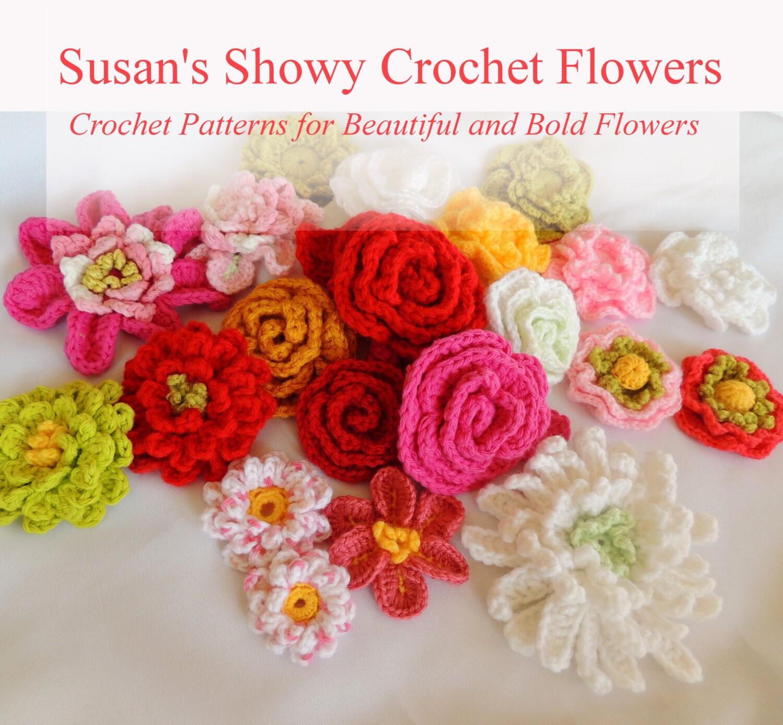 Flower crochet patterns susans 14 new crochet flower zoom izmirmasajfo