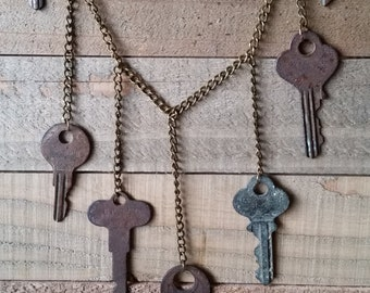 Vintage Keys Necklace