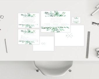 Wedding Package // Leaf Banner