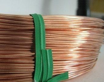 24g Genuine Copper solid wire soft (20 FEET) MSIA team jensjewellery