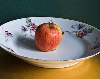 Vintage Faience Austrian Plate - Austria, 1918, Kitchen, Dining, Serving, Home Decor