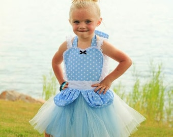 apron CINDERELLA  TUTU apron for girls