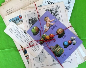 Vintage papers.  Junk journals pages and ideas.  Scrap-booking  pages and idea.