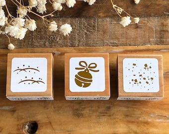 Pretty Japanese Wooden Rubber Stamp for journaling, cards, tags invitations making, scrapbooking, packaging