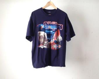 vintage DENVER BRONCOS 90s CHAMPIONSHIP t shirt