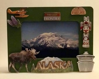 Handmade Alaska Picture Frame