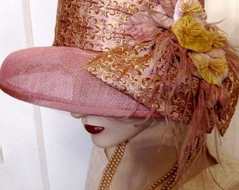 Lady Edith Sinamay Cloche