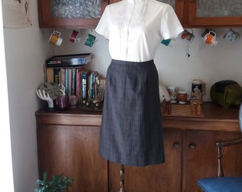 Library Days Vintage Skirt