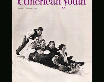 American Youth Vol. 2 No. 1 - Vintage Magazine c. 1961