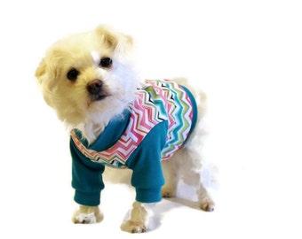 Teal Dog Shirt-Dog Clothes-Dog Shirts-Dog Sweater-Dog Clothing-Dog Apparel-Pet Clothes-Shirts for Dogs-Dog Sweatshirts-Dog Sweaters