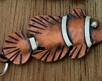 CS17 - Clown Fish Charm by ReginaMarieDesigns