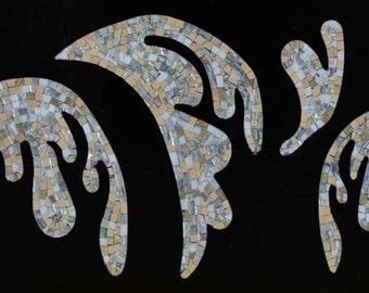 Modern Botanical Mosaic - Sophie