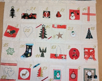 Advent calendar, Christmas calender , Christmas , countdown , handmade advent calendar, Christmas countdown, Christmas advent calendar,