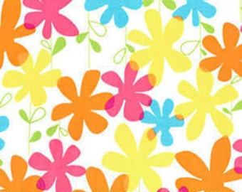 Michael Miller fabric Happy FLOWERS