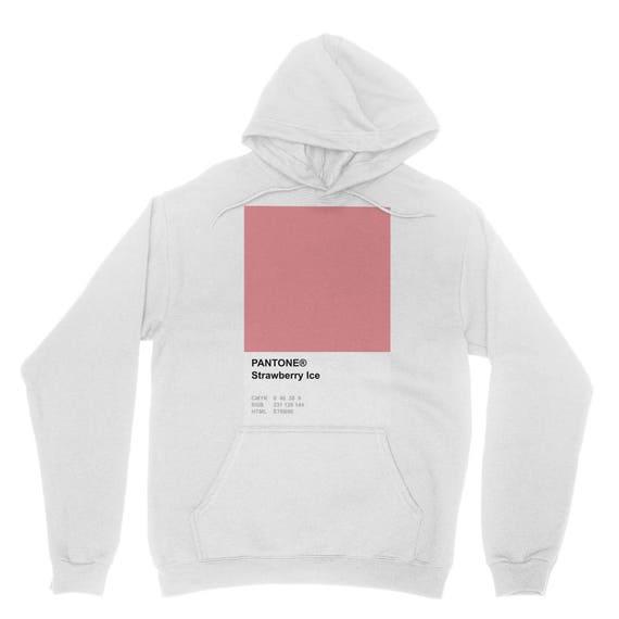 シ Vaporwave Aesthetic Pantone Strawberry Ice Unisex Sweatshirt シ OBWajgtdqd