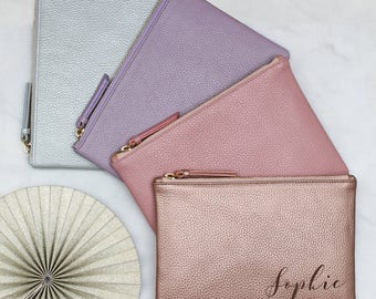 Personalised Luxury Pastel Leather Name Bag (HBL19)