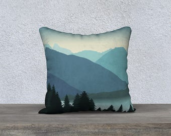 "Salish Sea 18""x18"" Pillow Case"