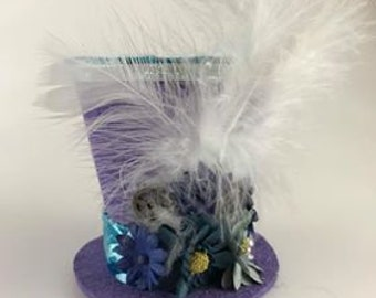 Purple and Blue-Tiny Top Hat