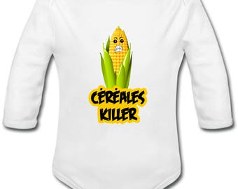 Cereal Killer - possibility of custom name onesie