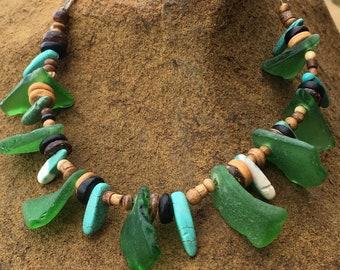 Beach Bum Power Couple's Necklace Set