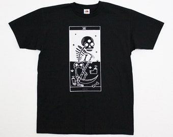 Bestiary tarot - Arcanum XIII - Black T-shirt