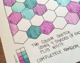 Shades of 2 Colours CompletelyRandom