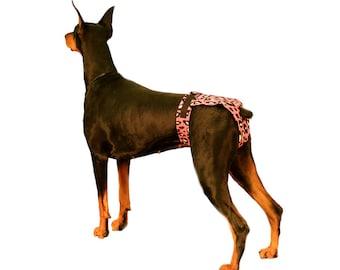 Female Dog Diaper, bitch britches, dog seasonal panties, custom dog diapers, seasonal dog panties, Standard Design or No Tail Design