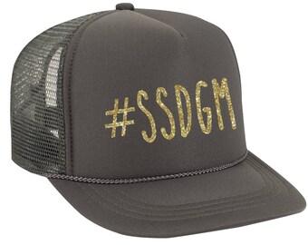 SSDGM Hat, Murderino Trucker Hat, My Favorite Murder Baseball Cap, Stay Sexy, Don't Get Murdered, MFM Podcast Hat, Live MFM Show True Crime