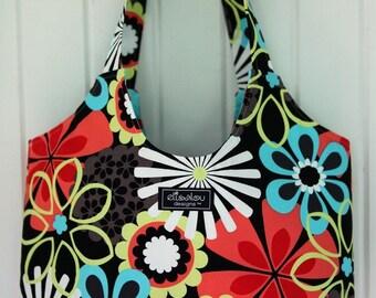 Boho Tote Bag- Flower Shower