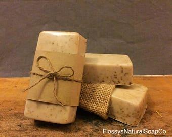 Coffee & Vanilla Goats Milk Soap