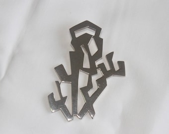 INKASSOUL puzzle PENDANT,  Solid Sterling Silver - Andean Trends (free shipping)