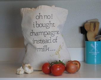 I forgot the Milk Shopping Bag