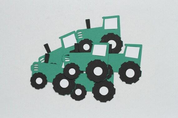 Tractor Die CutsTractor Paper Die CutsPaper TractorsTractor