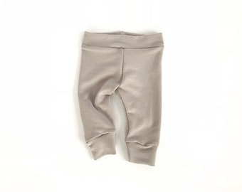 Oatmeal Baby Leggings Toddler Leggings Newborn Leggings Toddler Pants Newborn Pants Gender Neutral Pants Baby Girl Pants Baby Boy Pants