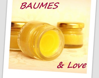 Organic hemp balm - Nourishing - to essential oils [Mint, chocolate or cinnamon]