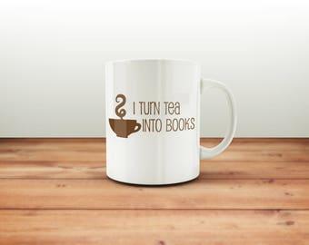 Writer gift, mug | tea mug | cute mug | writer | cup | gifts for writers | writing | editor gift | agent gift | Mother's Day gift