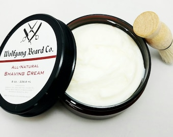 All Natural Shaving Cream with Free Brush