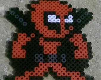 Marvel Deadpool Perler Art