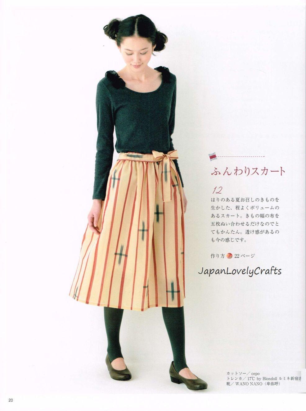 Kimono Kleid Muster Japanisches Handwerk Buch einfach nähen